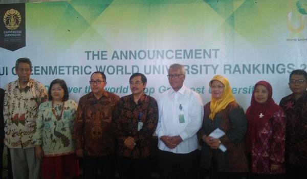 UI Kembali Raih Kampus Hijau Terbaik di Indonesia
